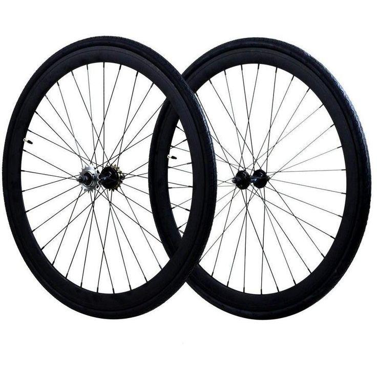 ZF Bikes 45mm Fixed Gear Wheelset