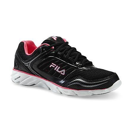 Fila Women's Memory Fresh 2 Athletic Shoe - Black/Pink