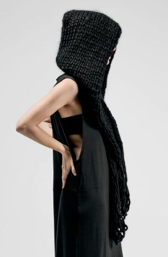 Sisters of the Black Moon // *Wych Scarf* $198