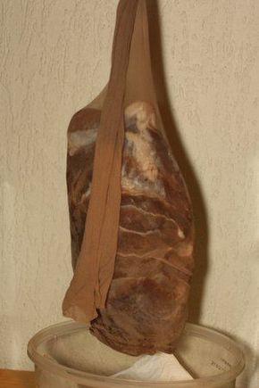 Luftgetrockneter Schinken selbst gemacht