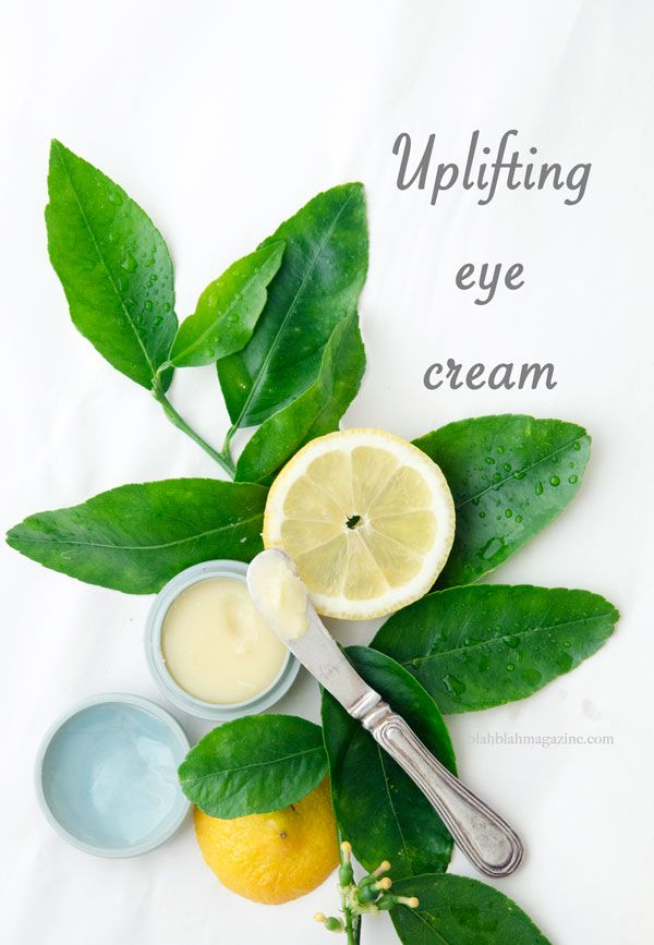 Now, I'm in the throes of Beauty Independence, it's time for me to make some more eye cream. I really love this one.
