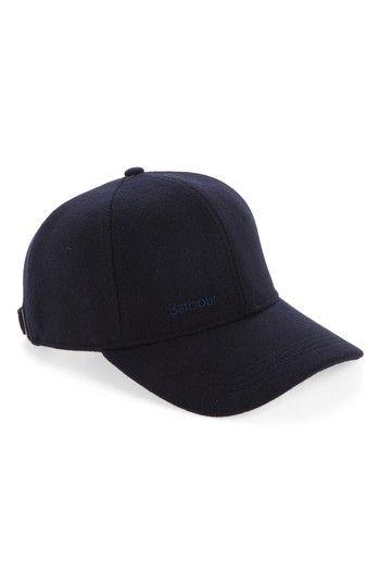 1914094fd26 BARBOUR COOPWORTH BASEBALL CAP - BLUE.  barbour