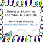 Need strategies for helping your students match pitch? Vocal exploration is a great way to get students in their head voices! This product includes...