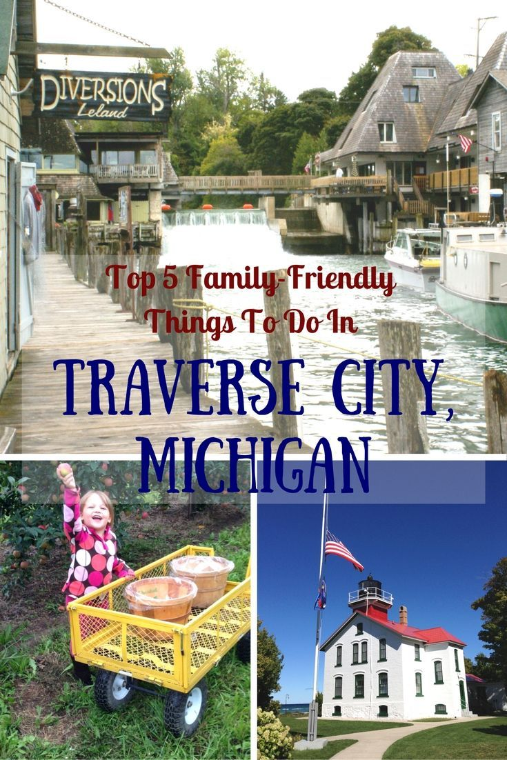 This Midwest destination may be known for its craft beers and food scene, but there are plenty of family friendly things to do in Traverse City, Michigan.