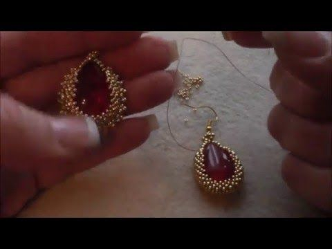 "Tutorial orecchini ""S.Valentino"" - YouTube"