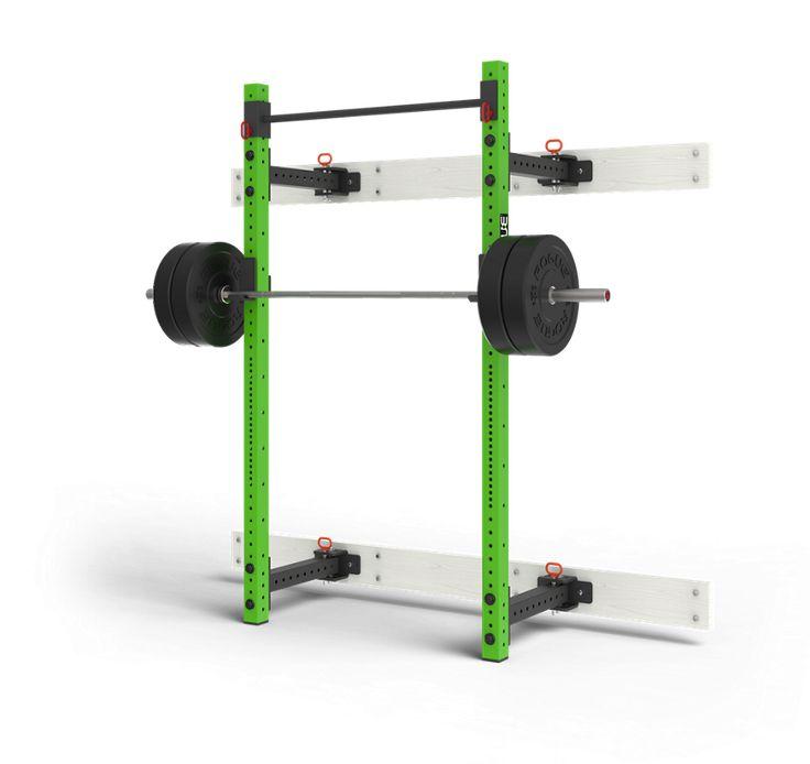 Rogue rml wc fold back wall mount rack garage gym