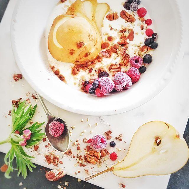 Muesli de frutas con pera - TASTEMADE CHILE