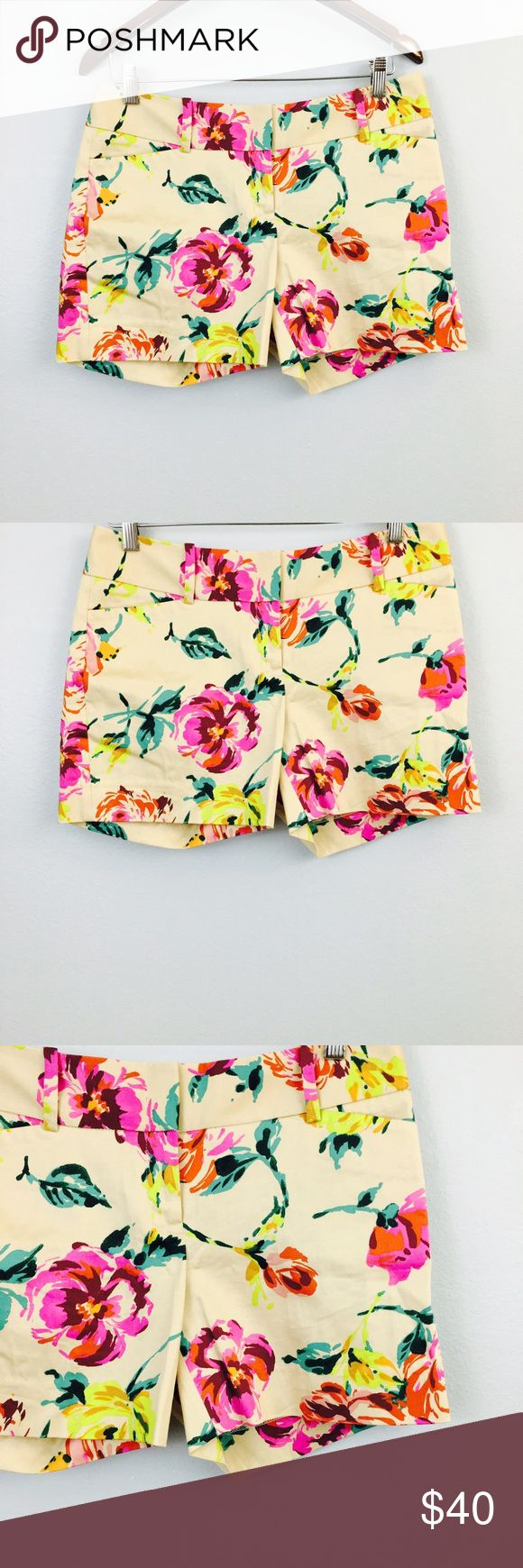Outback Red Nude Floral Shorts! Size 8! outback red Shorts Cargos