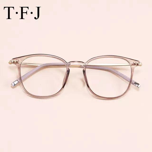 Tienda Online Montura Transparente De Anteojos óptica Para Ordenador Gafas De Mujer De Grado Femenino Clar Gafas Para Mujer Gafas De Ver Moda Monturas De Gafas