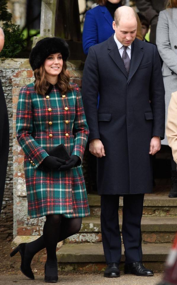 Sandringham Christmas 2017 | Kate in 2018 | Kate middleton, Duchess ...