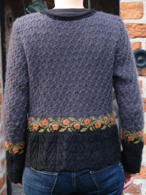 Rosemarythyme's My Gray Kastanje Cardigan - WOW!