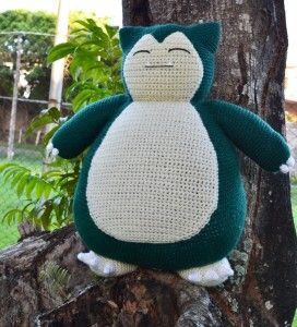 Snorlax pattern by Miahandcrafter.