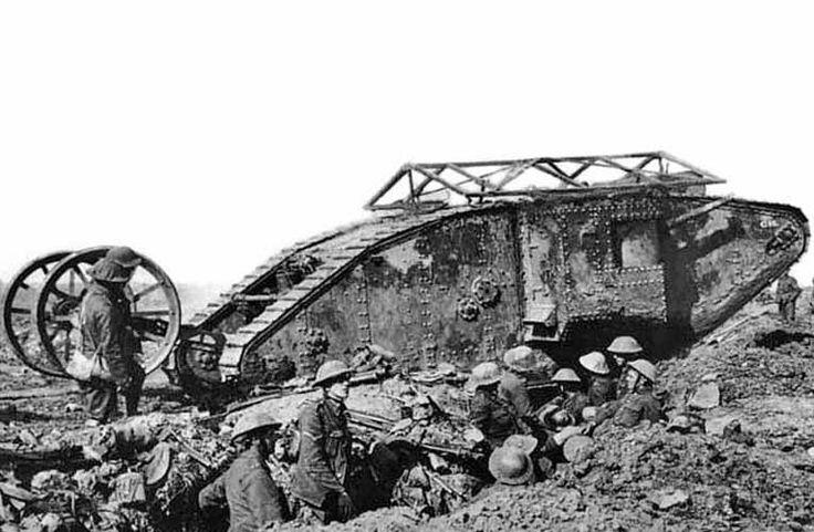 Há cem anos um tanque de guerra foi usado pela 1ª vez