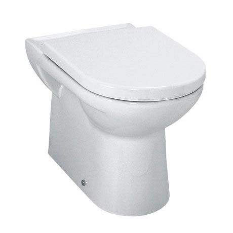 Laufen - Pro Back to Wall Pan with Toilet Seat - PROWC5