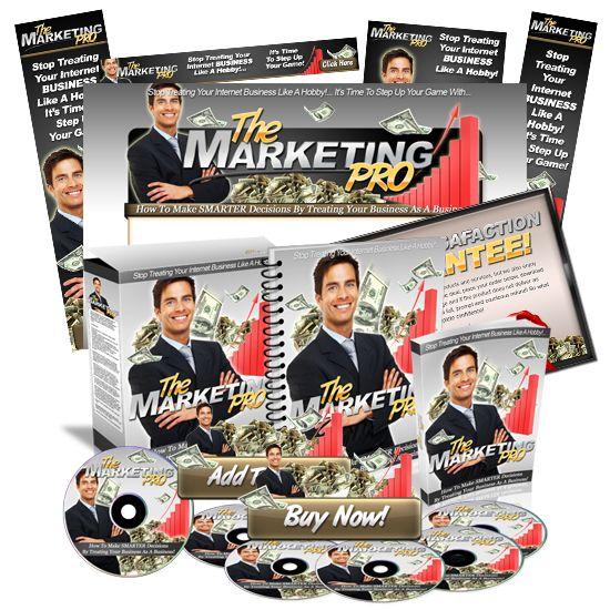 Minisite Graphics Set #22: The Marketing Pro