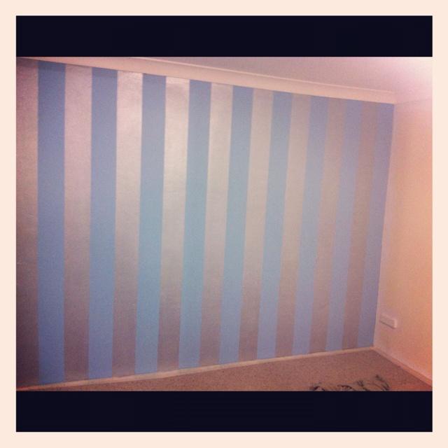 29 luxury metallic blue interior wall paint. Black Bedroom Furniture Sets. Home Design Ideas