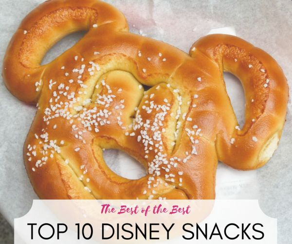 There is also a lot to eat at the Disney Parks. Here are the top 10 snacks you should try the next time you visit Walt Disney World or Disneyland.