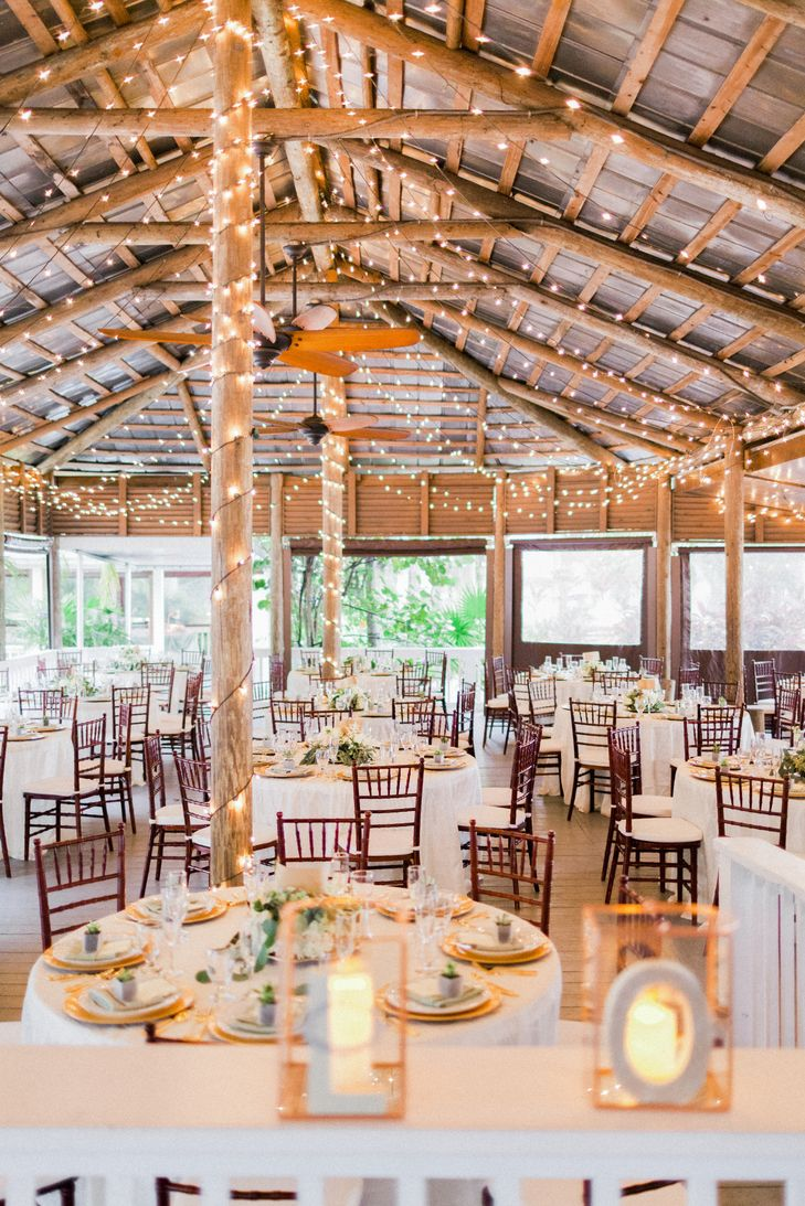 A Green And Gold Wedding At Paradise Cove Orlando In Florida