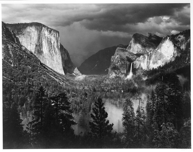 Philadelphia Museum of Art - Collections Object : Yosemite Valley, Thunderstorm