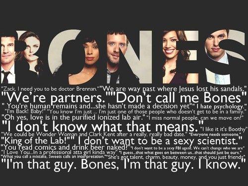 #Bones #Quotes #Favorite Crime Show