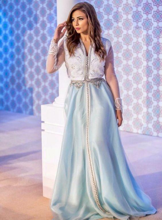 Prime Caftan Marocain 2019 – Robes Originales Pas Cher