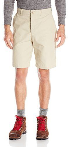 $12, Red Kap Plain Front Short. Sold by Amazon.com. Click for more info: https://lookastic.com/men/shop_items/256307/redirect
