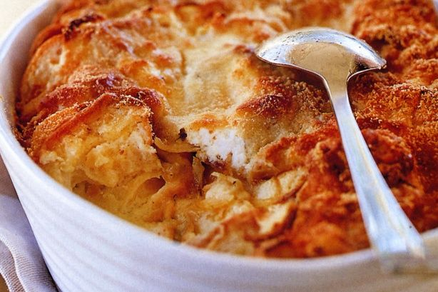 Savoury bread & butter pudding main image