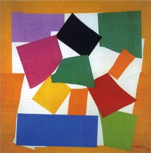 topcat77:  Henri Matisse  The Snail 1953  #art #abstract #minimal #geometric