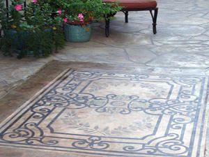 patio designs | Patios | Cement Patio Design, Costs, Ideas, Styles, Stamped Patio ...