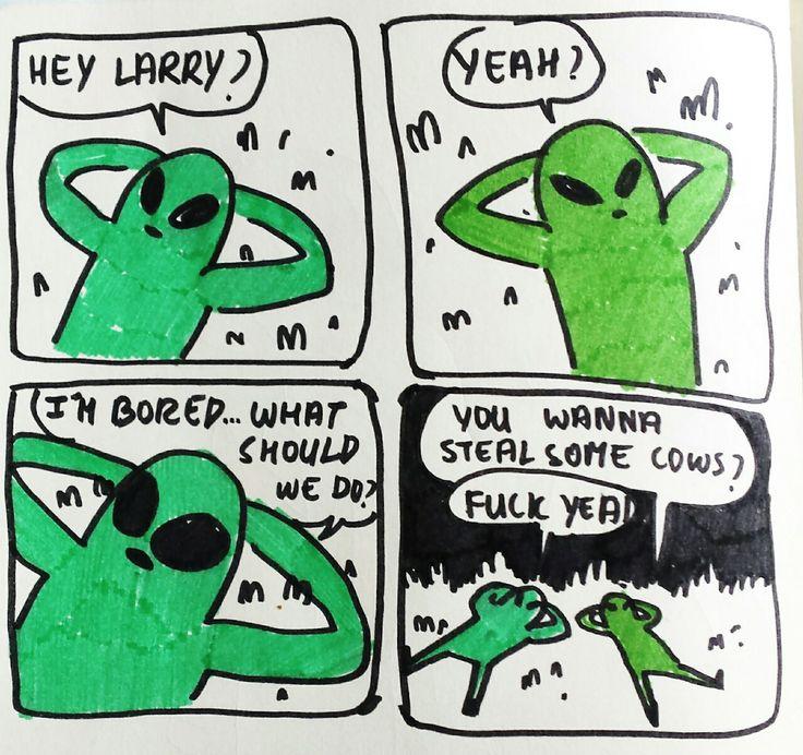 Bored Aliens