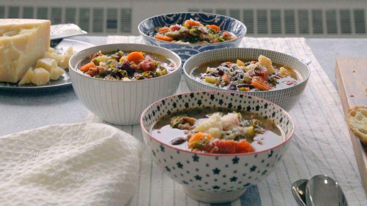 Soupe-repas toute garnie