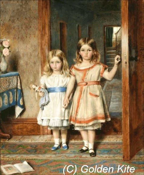 Muñecas en la galería de arte