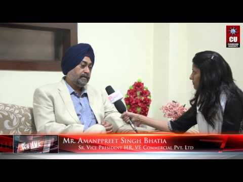 Motivational Lecture by Mr. Amanpreet Singh Bhatia, Sr. Vice President H...