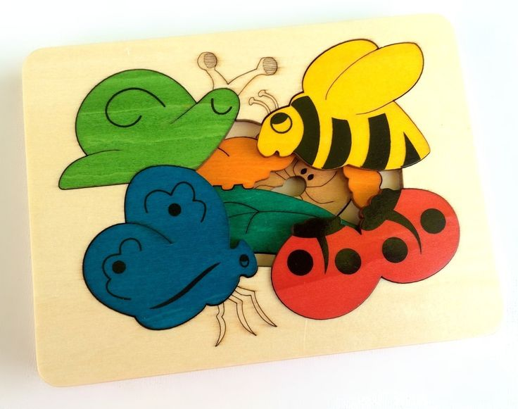 Image of George Luck Snail & Friends Puzzle