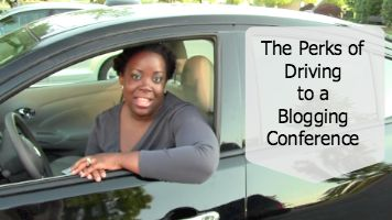 Perks of Driving to a Blogging Conference  ~ MommyTalkShow.com