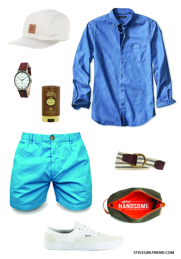 Make the most of Labor Day weekend in this SG approved weekend look.