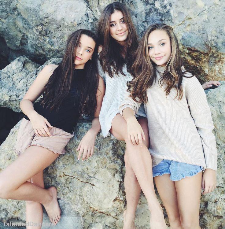 Kendall Vertes, Kalani Hilliker, Maddie Ziegler they are all sooo beautiful
