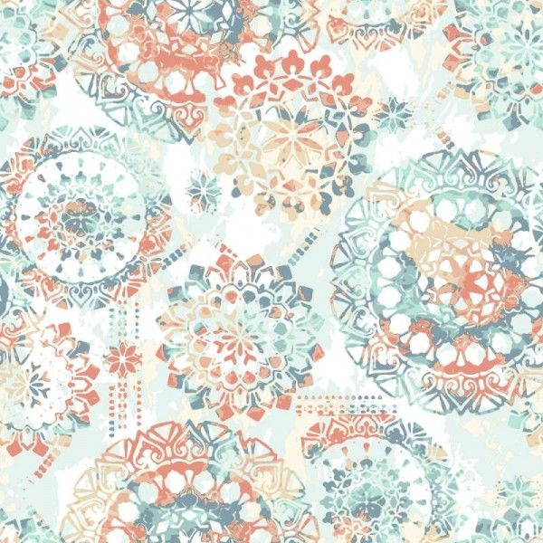 Bohemian Orange Blue Rmk9126wp York Peel Stick Rmk9126wp Wallpaper Warehouse Bohemian Wallpaper Peel And Stick Wallpaper Peel And Stick Vinyl