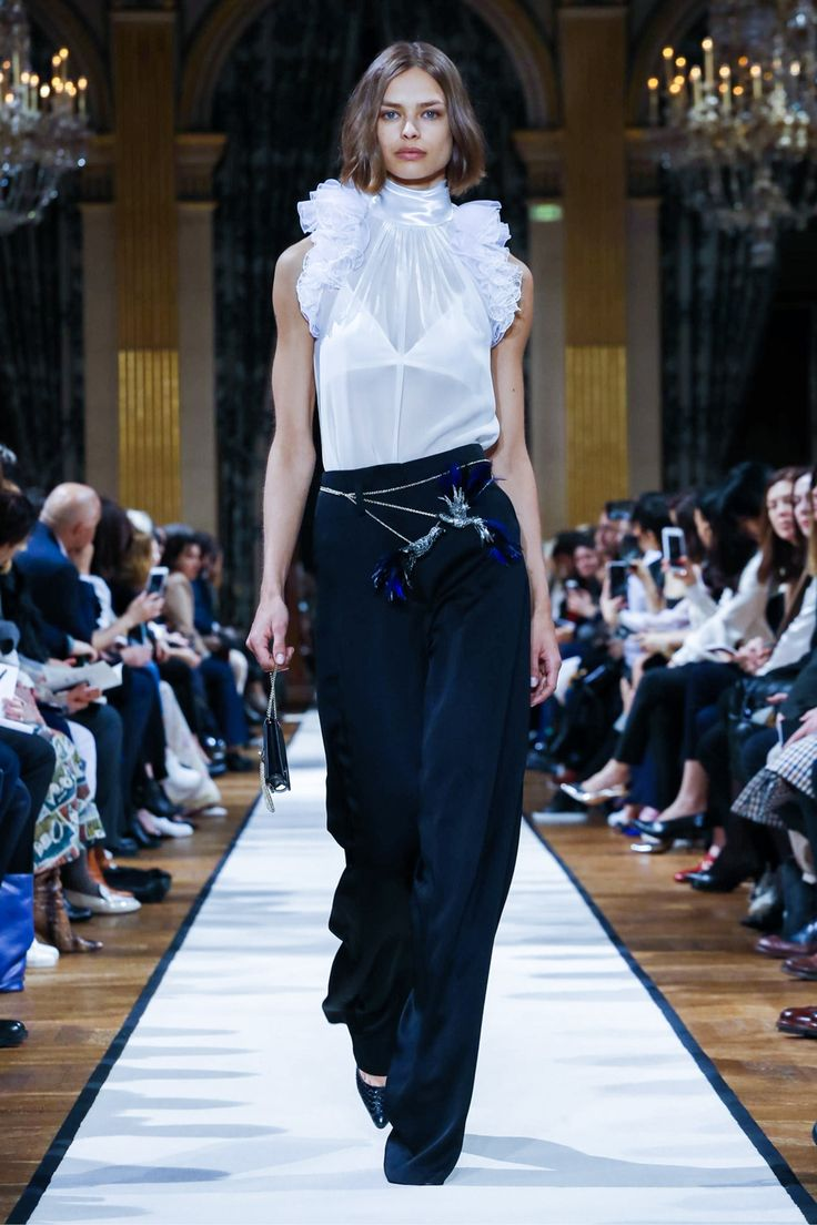 Lanvin, the oldest French fashion house in operation, presents its fall designs.