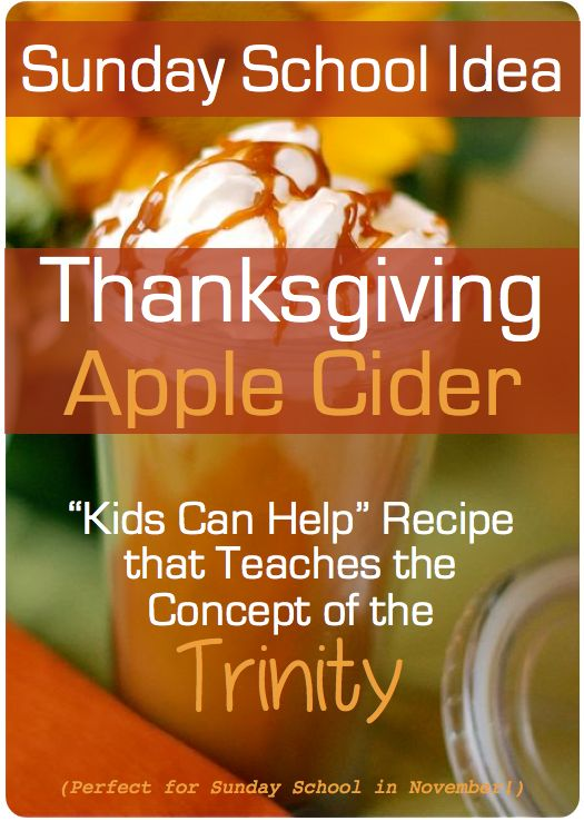 Thanksgiving Sunday School Idea