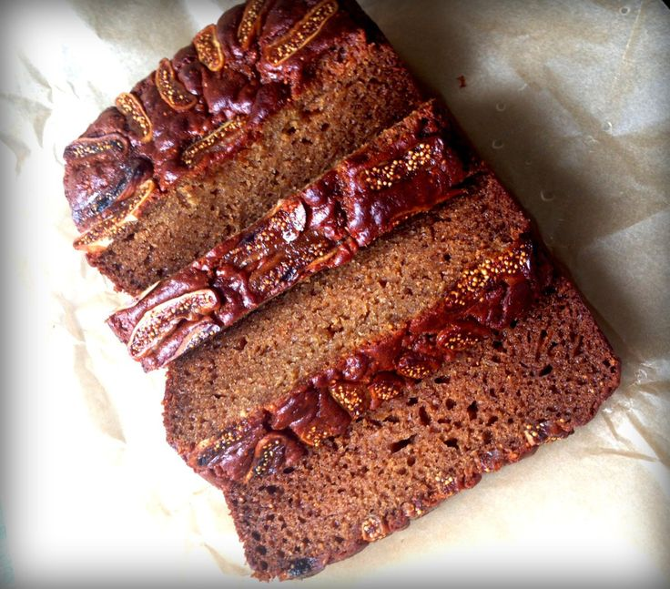 Spiced Fig and Ginger Bread
