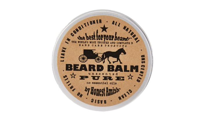 Best Beard Conditioner: Honest Amish Beard Balm Leave-in Conditioner