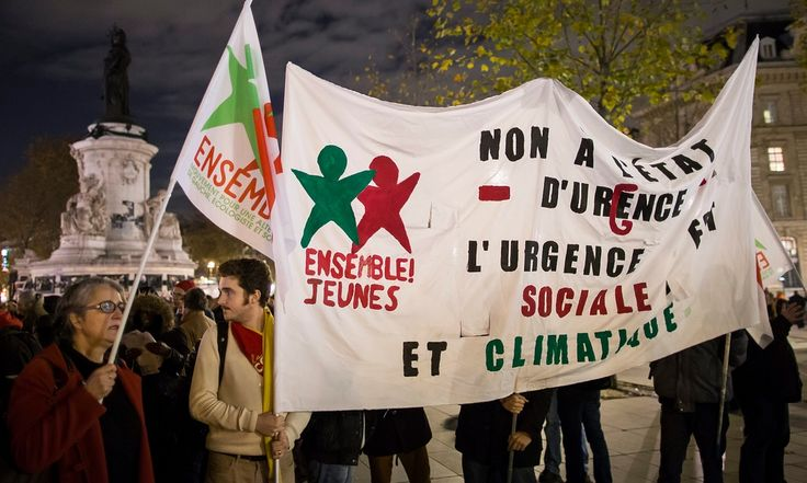 At least 24 climate activists have been put under house arrest by French police, accused of flouting a ban on organising protests during next week's Paris climate summit, the Guardian has learned