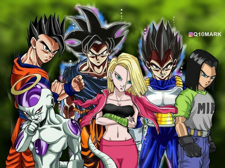 Team Universe 7 Anime Dragon Ball Dragon Ball Z Dragon Ball Gt