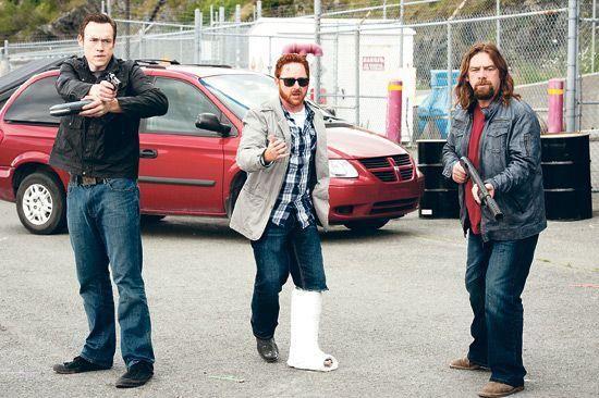 Republic of Doyle Season 3, #Kevin_Durand (left). #KevinDurand #Candians #actors