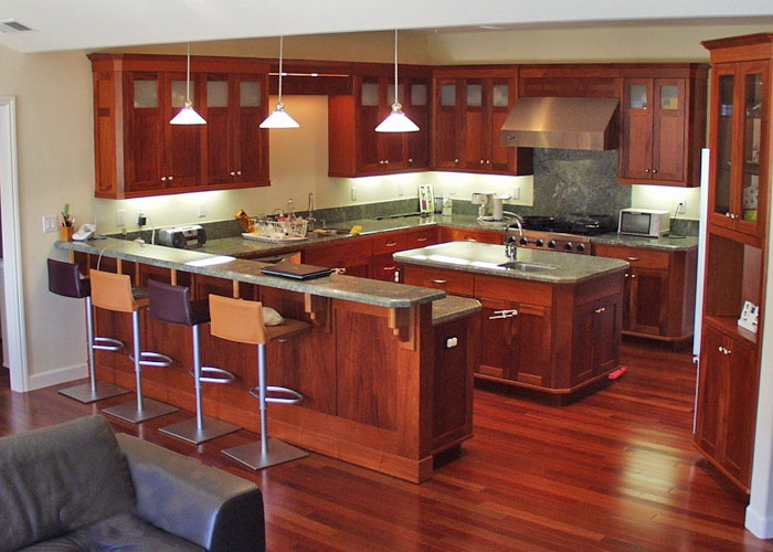 Custom Cabinetry By Lackey Woodworking. More Info Here:  Http://santacruzconstructionguild.