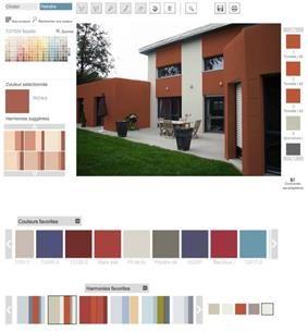 Simulateur pour associer les couleurs meilleures images for Simulateur couleur facade maison