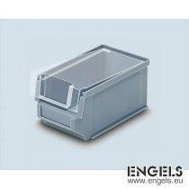 Transparante deksel voor magazijn stapelbak, 170x102 mm, Silafix 5