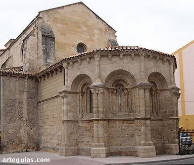 Románico en Miranda de Ebro: iglesia de San Ncolás