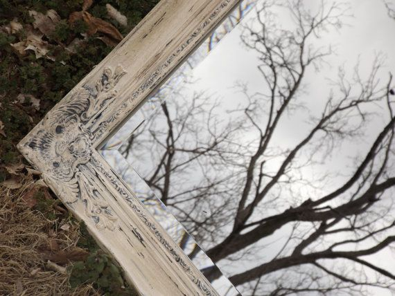 Hey, I found this really awesome Etsy listing at https://www.etsy.com/listing/187129341/french-country-wall-mirror-shabby-chic